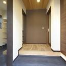 高倉通りの家#1つ1つの部屋にこだわった家の写真 玄関とシューズクローク
