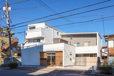 ARCO 賃貸併用住宅+店舗 (外観)