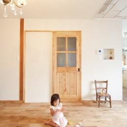 大阪府Mさん邸:古い一軒家がフレンチカジュアルな広々LDKに
