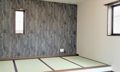 ダブル断熱×全館空調 (小上がり畳のある寝室)