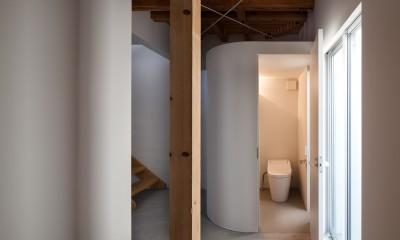 下目黒戸建リノベーションPJ (トイレ)