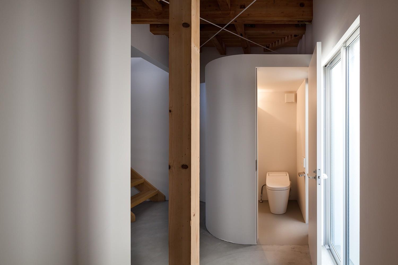 バス/トイレ事例:トイレ(下目黒戸建リノベーションPJ)
