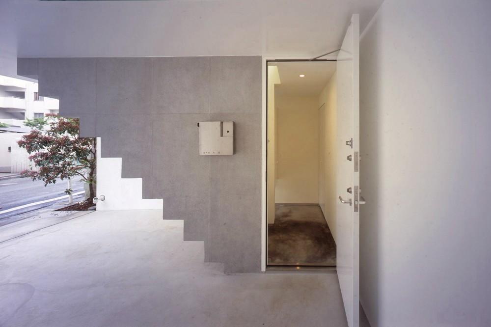 西荻窪の住宅 (玄関)