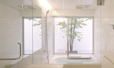西荻窪の住宅 (浴室)