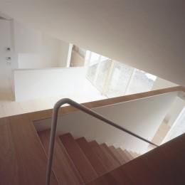新屋の住宅 (階段)