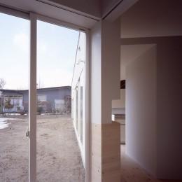 新屋の住宅 (寝室)