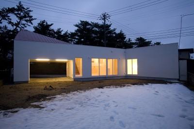 外観 (新屋の住宅)
