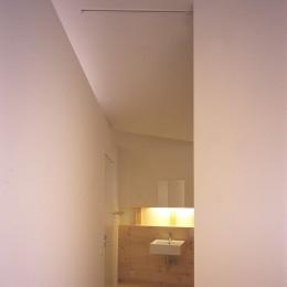 新屋の住宅 (洗面脱衣室)