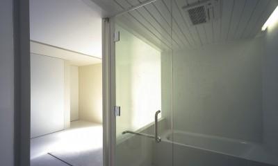 船橋の住宅 (浴室)