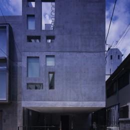 神宮前の住宅 (外観)