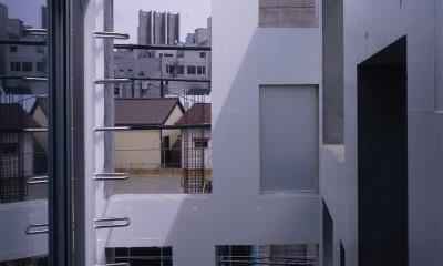 神宮前の住宅 (テラス)