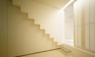 経堂の住宅 (寝室)