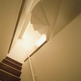 経堂の住宅 (階段)
