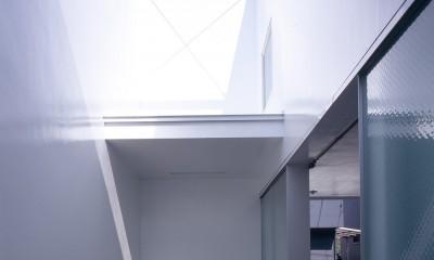 経堂の住宅 (玄関アプローチ)