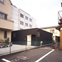 下丸子の平屋 (外観)
