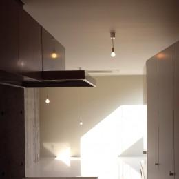 下丸子の平屋 (親世帯キッチン)