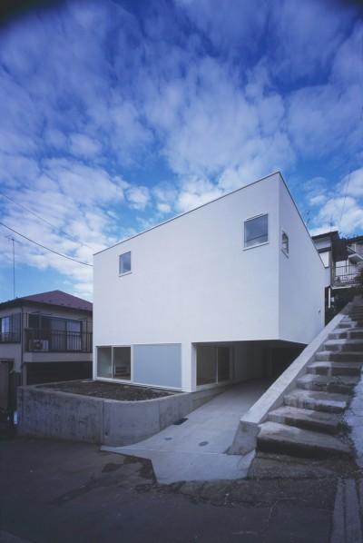 新横浜の住宅 (外観)