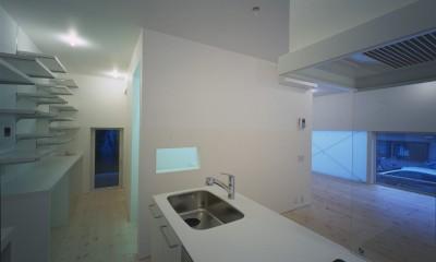 新横浜の住宅 (キッチン)
