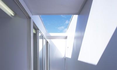 新横浜の住宅 (2階テラス)