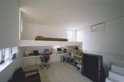 個室 (北茨城の住宅)