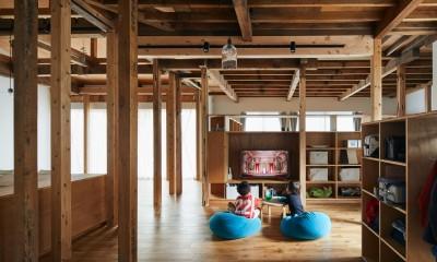山の根の平屋-築70年の家を住み継いでいく、リノベーションの可能性
