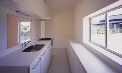 高松の住宅 (キッチン)
