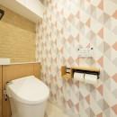 夫婦の「like」を詰め込んだ家の写真 トイレ