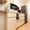 夫婦の「like」を詰め込んだ家の写真 キッチン収納