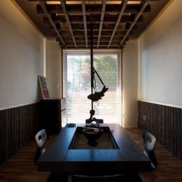 上士幌の家 (囲炉裏の部屋)