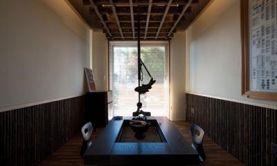 囲炉裏の部屋|上士幌の家