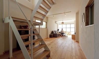 大阪府Sさん邸:中古リノベーションで開放感のある個性的な空間に