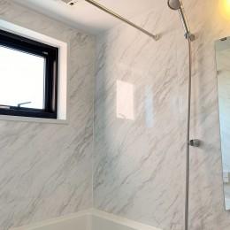 ~ 大きなL型のリビングカウンターが見どころ ~ スケルトン×フルリノベーション ~ (浴室)