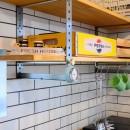 ゴロゴロ空間・今日は早く家に帰ろうの写真 キッチン・オリジナル可動棚