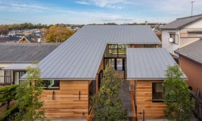 尾張旭の住宅 自然と呼応するモダンウッドハウス