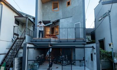 1・2・house 遊びゴコロいっぱいのボーダーレスハウス