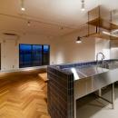 リボーンキューブの住宅事例「PLAYFUL 遊び心の北欧アンティークテイストリノベーション」