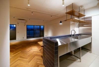 PLAYFUL 遊び心の北欧アンティークテイストリノベーション (キッチンダイニング)
