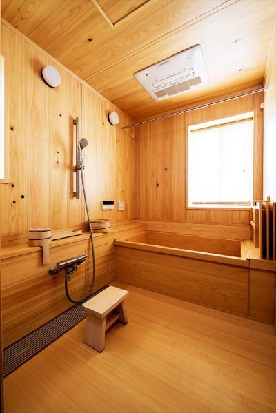 【浴室】 (くつろぎの住まいを、こだわりの輸入スタイルで実現)
