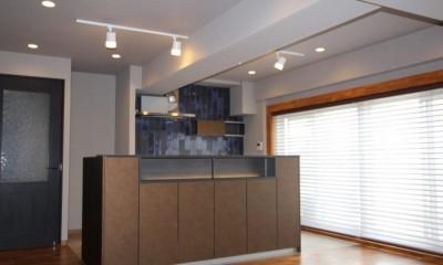 ビンテージマンションに相応しいリノベーション~T様邸~ (ダイニングキッチン)