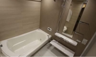 ビンテージマンションに相応しいリノベーション~T様邸~ (お風呂)