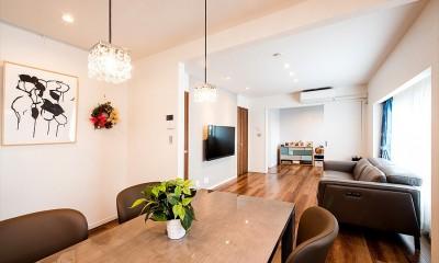 「ちょうどいい距離感」でつながる安心の二世帯住宅へ『まるごと』一新