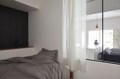 寝室 (T house 2)