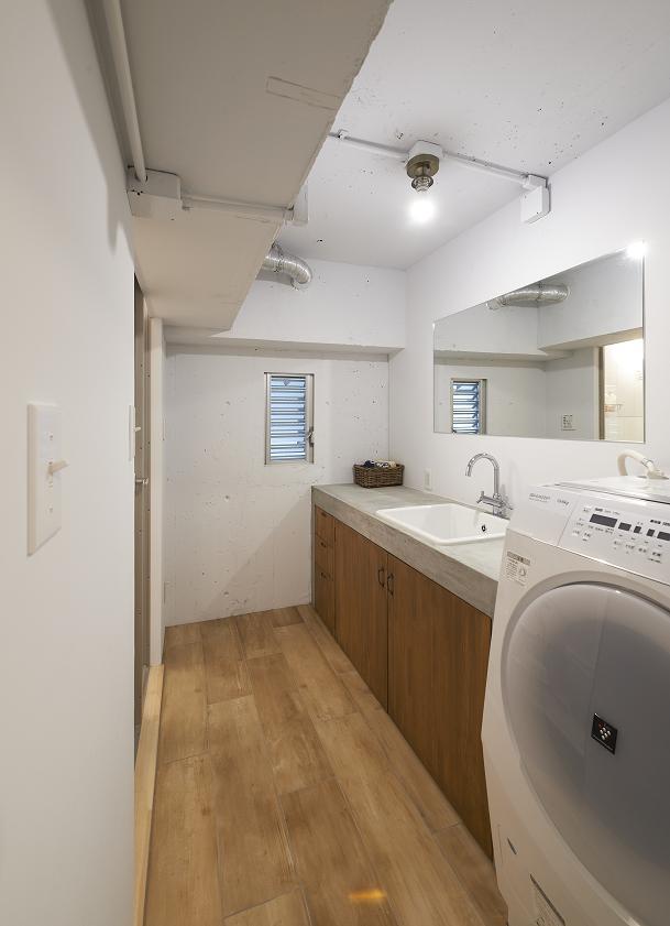 大阪府豊中市 リノベーションの部屋 洗面