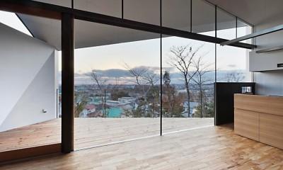 K HOUSE 高台からの眺望を望む、小屋のような住処 (LDK)