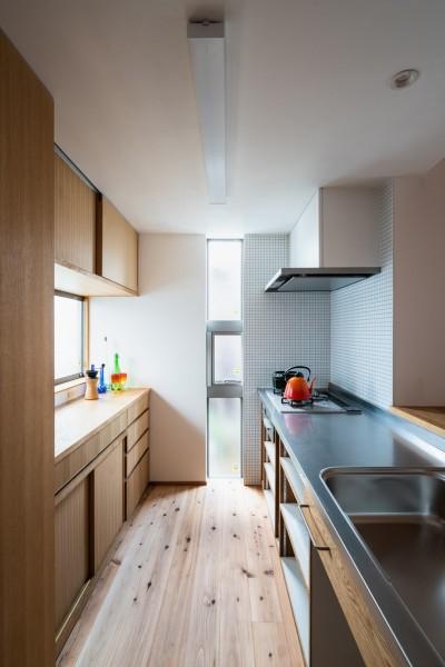 キッチン (鎌ヶ谷の家D ー私だけの平屋ー)