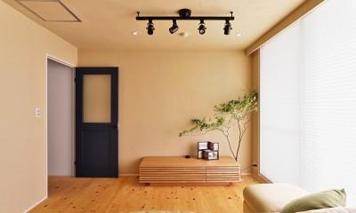 横浜市S様邸 ~みんながいる、心地良さ。~ (明るいリビング)