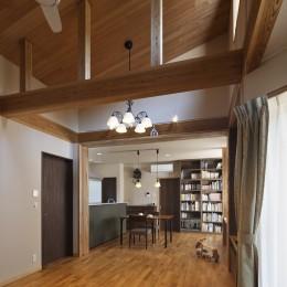 目が行き届く快適な平屋#和歌山の家