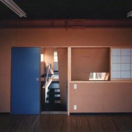 【相模原の動物病院】  人6人、犬3匹、猫10匹が住む高密度の建築 (子供部屋)