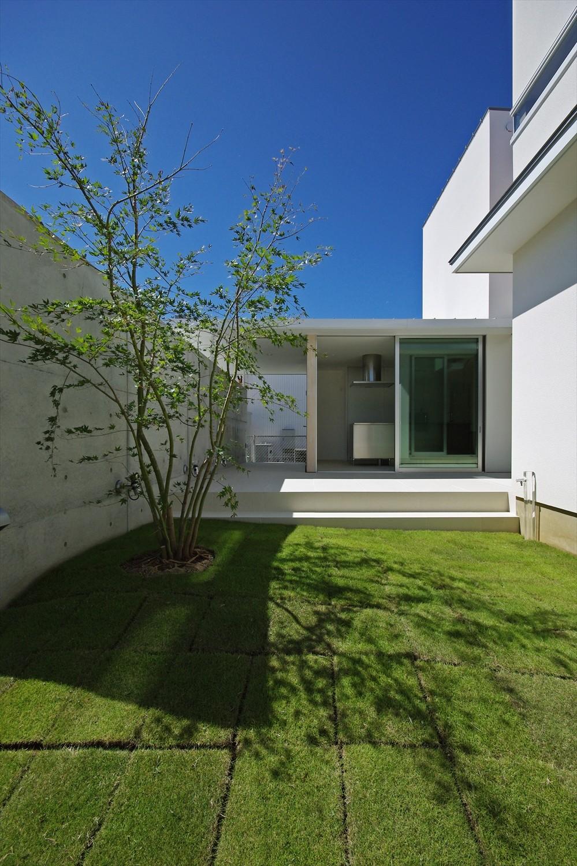 大脇の家-owaki (中庭)