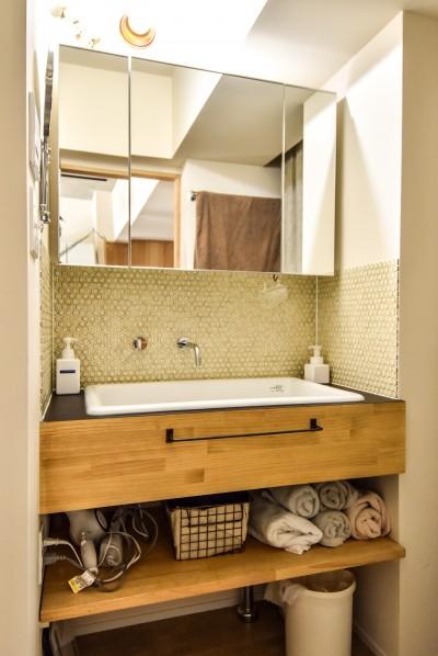 洗面室 (市ヶ谷 K邸 マンションリノベーション)